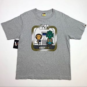 2011 A Bathing Ape A New Hope Cantina Tee Size L